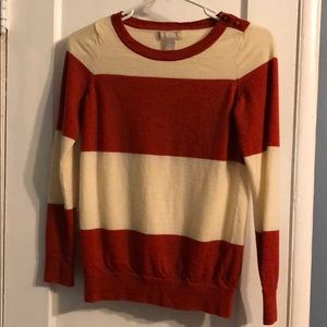 BANANA REPUBLIC-Striped Sweatshirt (XS)